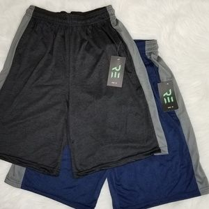Men's Active Athletic Performance Shorts w/Pockets